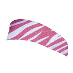 SKIN3 WHITE MARBLE & PINK DENIM Stretchable Headband