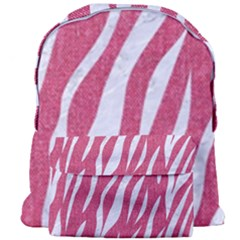 SKIN3 WHITE MARBLE & PINK DENIM Giant Full Print Backpack