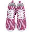 SKIN3 WHITE MARBLE & PINK DENIM Women s Lightweight High Top Sneakers View1