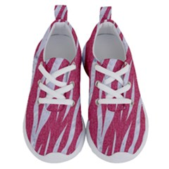 SKIN3 WHITE MARBLE & PINK DENIM Running Shoes