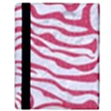 SKIN2 WHITE MARBLE & PINK DENIM (R) Apple iPad 3/4 Flip Case View3