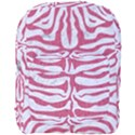 SKIN2 WHITE MARBLE & PINK DENIM (R) Full Print Backpack View1