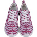 SKIN2 WHITE MARBLE & PINK DENIM (R) Men s Lightweight Sports Shoes View1