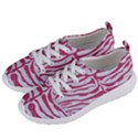SKIN2 WHITE MARBLE & PINK DENIM (R) Women s Lightweight Sports Shoes View2