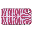 SKIN2 WHITE MARBLE & PINK DENIM Apple iPhone 4/4S Hardshell Case (PC+Silicone) View1