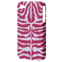 SKIN2 WHITE MARBLE & PINK DENIM Apple iPhone 4/4S Hardshell Case (PC+Silicone) View3