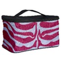 SKIN2 WHITE MARBLE & PINK DENIM Cosmetic Storage Case View2