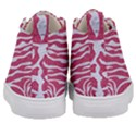 SKIN2 WHITE MARBLE & PINK DENIM Kid s Mid-Top Canvas Sneakers View4