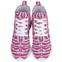 SKIN2 WHITE MARBLE & PINK DENIM Women s Lightweight High Top Sneakers View1