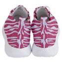SKIN2 WHITE MARBLE & PINK DENIM Women s Lightweight High Top Sneakers View4