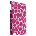 SKIN1 WHITE MARBLE & PINK DENIM (R) Apple iPad 3/4 Hardshell Case View2