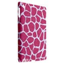 SKIN1 WHITE MARBLE & PINK DENIM (R) Apple iPad 3/4 Hardshell Case (Compatible with Smart Cover) View2