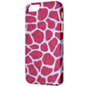 SKIN1 WHITE MARBLE & PINK DENIM (R) Apple iPhone 5 Classic Hardshell Case View3