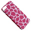 SKIN1 WHITE MARBLE & PINK DENIM (R) Apple iPhone 5 Classic Hardshell Case View5
