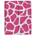 SKIN1 WHITE MARBLE & PINK DENIM (R) Apple iPad Mini Flip Case View1
