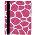 SKIN1 WHITE MARBLE & PINK DENIM (R) Apple iPad Mini Flip Case View3