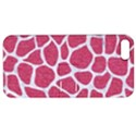 SKIN1 WHITE MARBLE & PINK DENIM (R) Apple iPhone 5 Hardshell Case with Stand View1