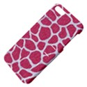 SKIN1 WHITE MARBLE & PINK DENIM (R) Apple iPhone 5 Hardshell Case with Stand View4