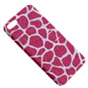 SKIN1 WHITE MARBLE & PINK DENIM (R) Apple iPhone 5 Hardshell Case with Stand View5