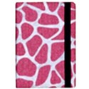 SKIN1 WHITE MARBLE & PINK DENIM (R) iPad Air Flip View2