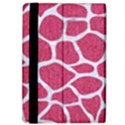 SKIN1 WHITE MARBLE & PINK DENIM (R) iPad Air Flip View4