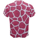 SKIN1 WHITE MARBLE & PINK DENIM (R) Men s Cotton Tee View2