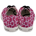 SKIN1 WHITE MARBLE & PINK DENIM (R) Men s Low Top Canvas Sneakers View4