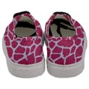 SKIN1 WHITE MARBLE & PINK DENIM (R) Men s Classic Low Top Sneakers View4