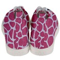 SKIN1 WHITE MARBLE & PINK DENIM (R) Men s Mid-Top Canvas Sneakers View4