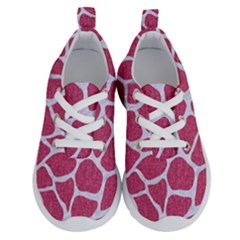 Skin1 White Marble & Pink Denim (r) Running Shoes