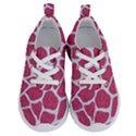 SKIN1 WHITE MARBLE & PINK DENIM (R) Running Shoes View1