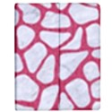 SKIN1 WHITE MARBLE & PINK DENIM Apple iPad 2 Flip Case View1