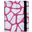 SKIN1 WHITE MARBLE & PINK DENIM Apple iPad 2 Flip Case View2