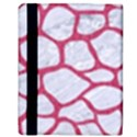 SKIN1 WHITE MARBLE & PINK DENIM Apple iPad 2 Flip Case View3