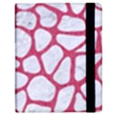 SKIN1 WHITE MARBLE & PINK DENIM Samsung Galaxy Tab 8.9  P7300 Flip Case View2