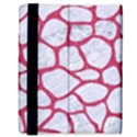SKIN1 WHITE MARBLE & PINK DENIM Samsung Galaxy Tab 8.9  P7300 Flip Case View3