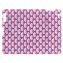 SCALES3 WHITE MARBLE & PINK DENIM (R) Apple iPad 3/4 Hardshell Case View1