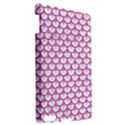 SCALES3 WHITE MARBLE & PINK DENIM (R) Apple iPad 3/4 Hardshell Case View2