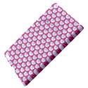 SCALES3 WHITE MARBLE & PINK DENIM (R) Apple iPad 3/4 Hardshell Case View4