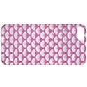 SCALES3 WHITE MARBLE & PINK DENIM (R) Apple iPhone 5 Classic Hardshell Case View1