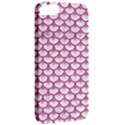 SCALES3 WHITE MARBLE & PINK DENIM (R) Apple iPhone 5 Classic Hardshell Case View2