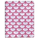 SCALES3 WHITE MARBLE & PINK DENIM (R) Apple iPad 2 Flip Case View1