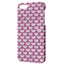 SCALES3 WHITE MARBLE & PINK DENIM (R) Apple iPhone 5 Hardshell Case with Stand View3