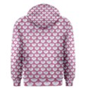 SCALES3 WHITE MARBLE & PINK DENIM (R) Men s Pullover Hoodie View2