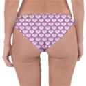 SCALES3 WHITE MARBLE & PINK DENIM (R) Reversible Hipster Bikini Bottoms View2