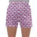 SCALES3 WHITE MARBLE & PINK DENIM (R) Sleepwear Shorts View1