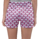 SCALES3 WHITE MARBLE & PINK DENIM (R) Sleepwear Shorts View2