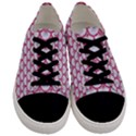 SCALES3 WHITE MARBLE & PINK DENIM (R) Men s Low Top Canvas Sneakers View1