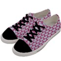 SCALES3 WHITE MARBLE & PINK DENIM (R) Men s Low Top Canvas Sneakers View2
