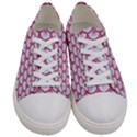 SCALES3 WHITE MARBLE & PINK DENIM (R) Women s Low Top Canvas Sneakers View1